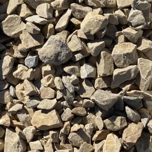 Three Quarter Inch Kahki Stone