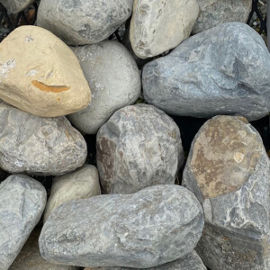 Three to Five Inch River Rock
